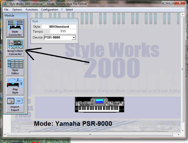 create yamaha style files free software and shareware